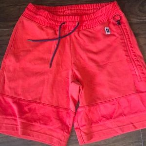 Red & navy Nike Court Shorts 🎾